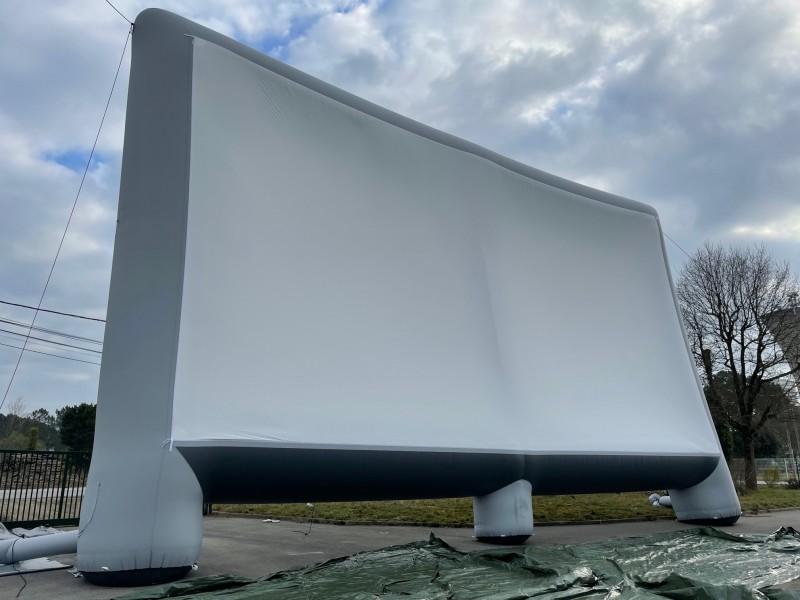 Un nouvel écran gonflable pour Cinétoiles